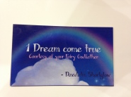 If you made a wish, you got this card. Dalu works hard at the ComicCon too!